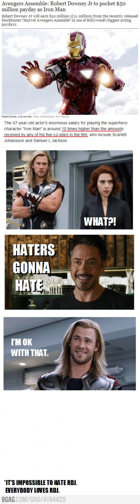 Mother of paychecks. i love the avengers so much!