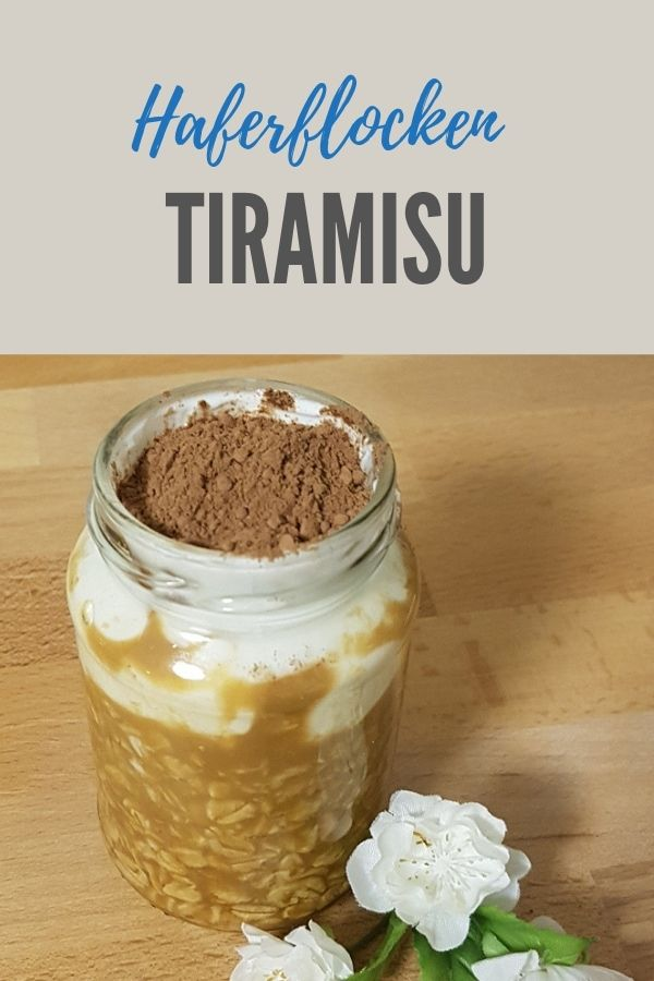 Overnight Tiramisu Oats - Sassys Weg mit GetFit Fitness