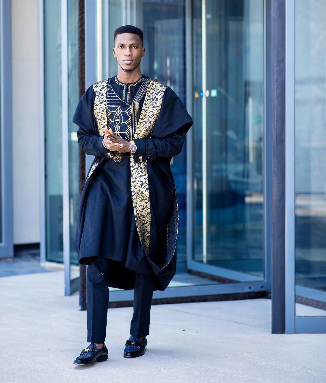 859c18ace4164 Black x Gold. What if T'challa was actually Yoruba? The African ...