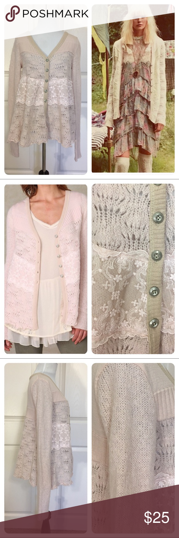 Free People Honeysuckle Years boho chic cardigan | Free people ...