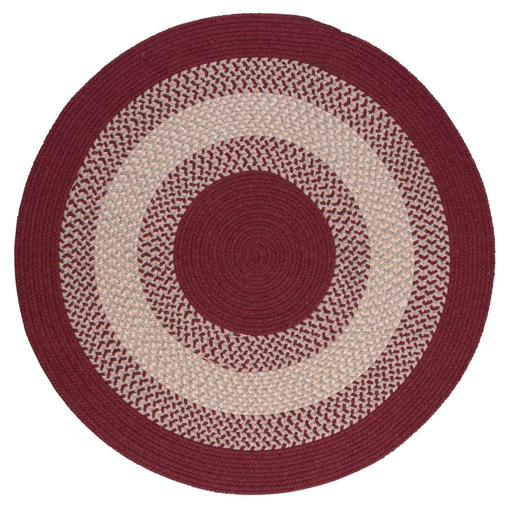 Home Decorators Collection Chancery Berry 8 Ft X 8 Ft Round