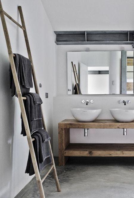Bad Aus Gewachstem Beton 17 Ideen Tendance Pinterest Homedecorgiftss Badewanne Umbauen Badezimmer Renovieren Und Badezimmer