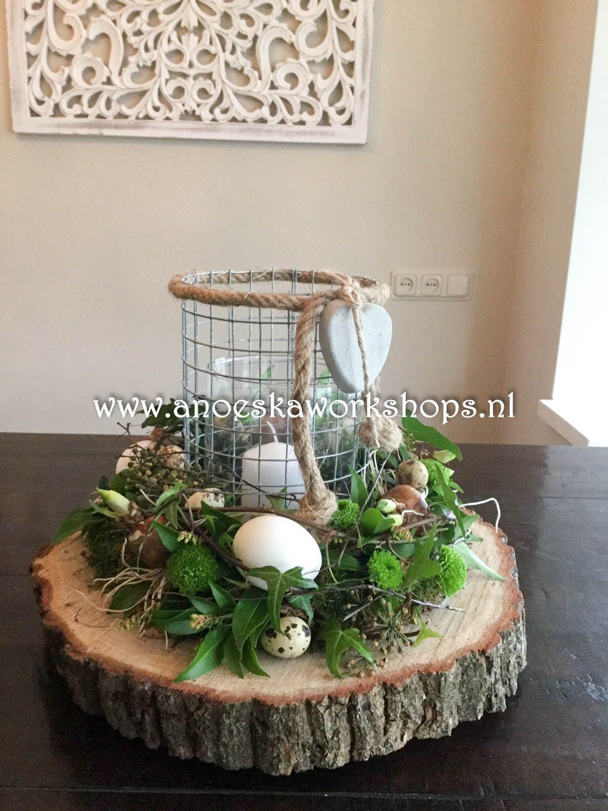 Pasen 2019 - Ostern Dekoration Garten Beton #japangarden