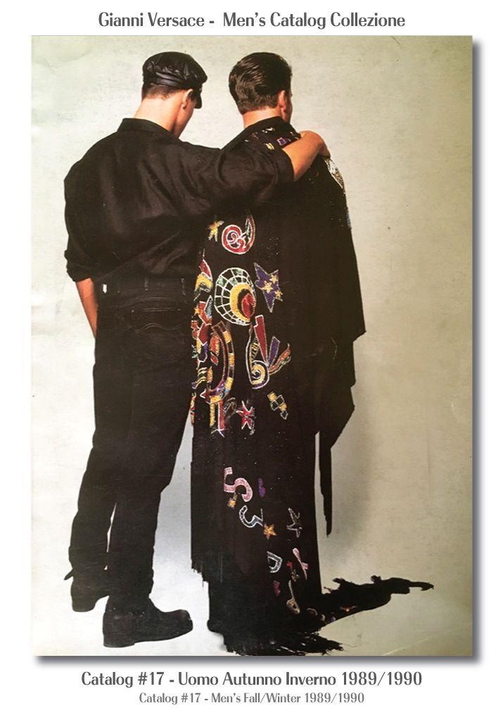 5cf27ab8c6 Gianni Versace Catalogue #17, Collezione Uomo Aut…   A History of ...