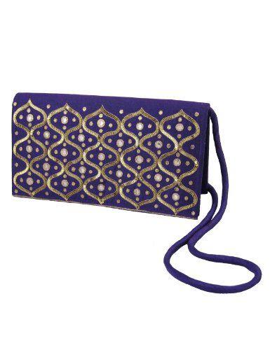 Bolsos hechos a mano por mujeres de seda bordado a mano  Amazon.es ... dbef4d9e1a0