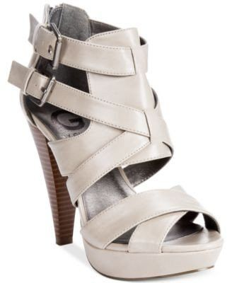 d70fa7dc8fec G by GUESS Women s Dixie Platform Sandals