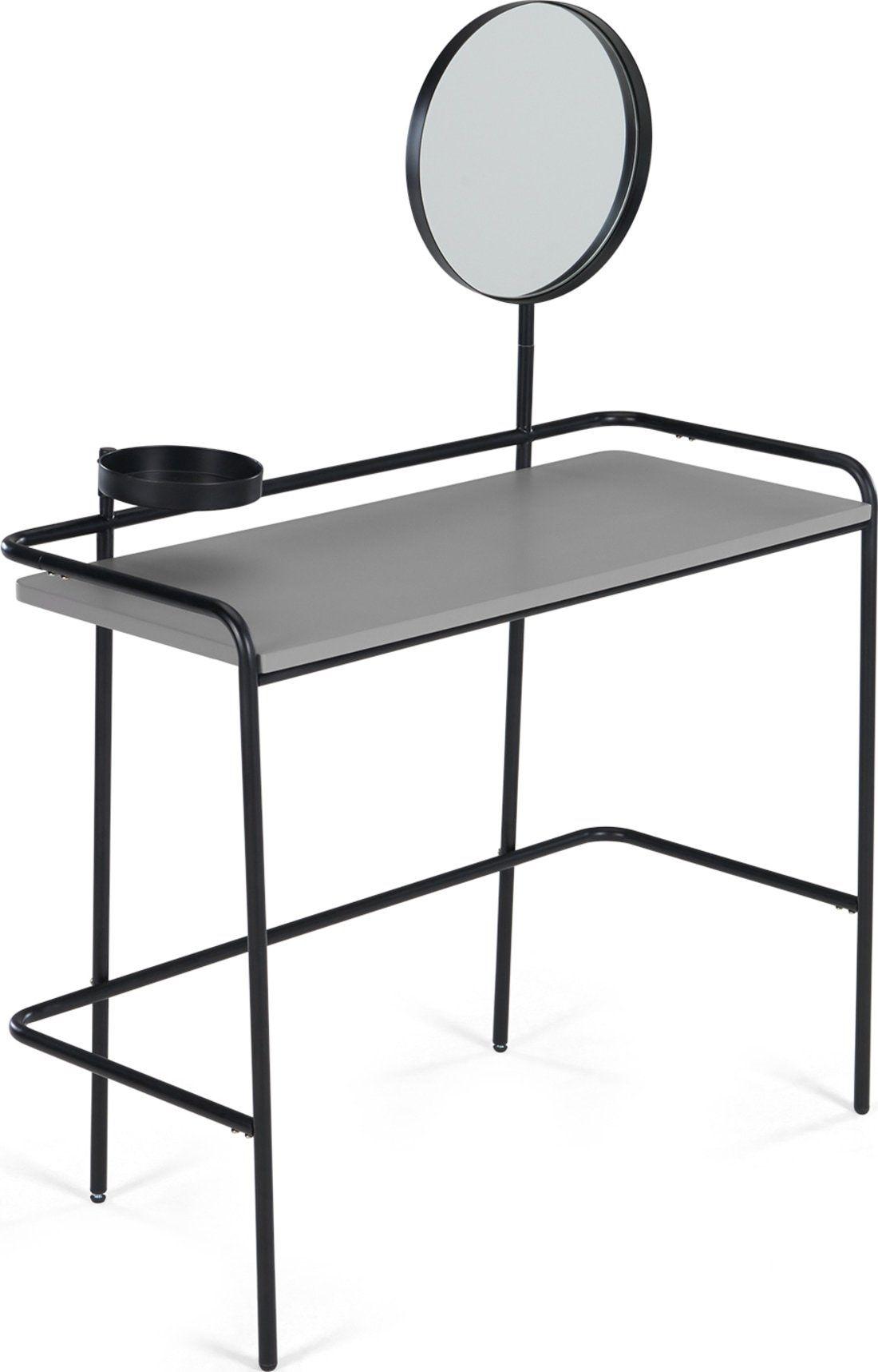 Best Essentials Alana Dressing Table Black In 2020 Black 400 x 300