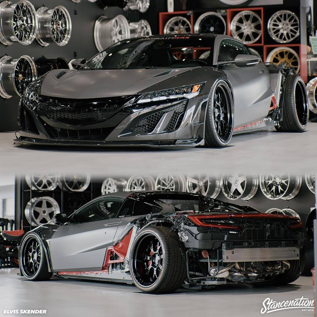 Aimgain's Widebody NSX In The Works!