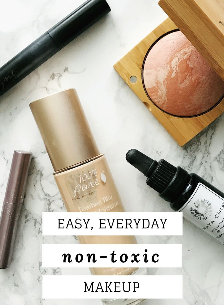 My Everyday Makeup Routine #organicmakeup