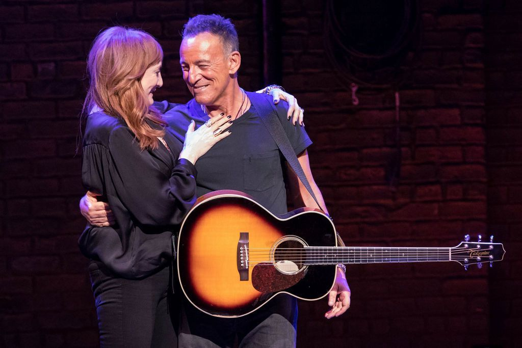 How Bruce Springsteen's Wife Supported Him Through His Battle With Depression #brucespringsteen