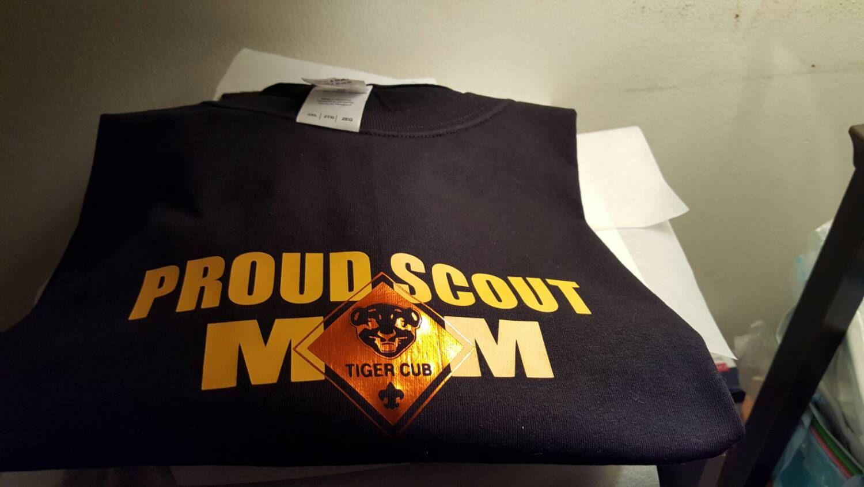 Scout mom, scout dad, scout parent gift, proud scout parent