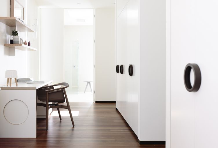 Swinburne Avenue Residence study nook by Doherty Lynch