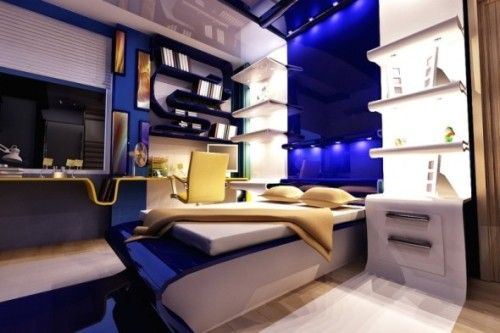 Blue Bedroom For Teenage Boys black and blue bedroom design ideas for teenage boys - google