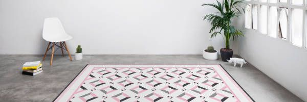 10 alfombras originales para tu hogar hidraulik tiles - Alfombras hipoalergenicas ...