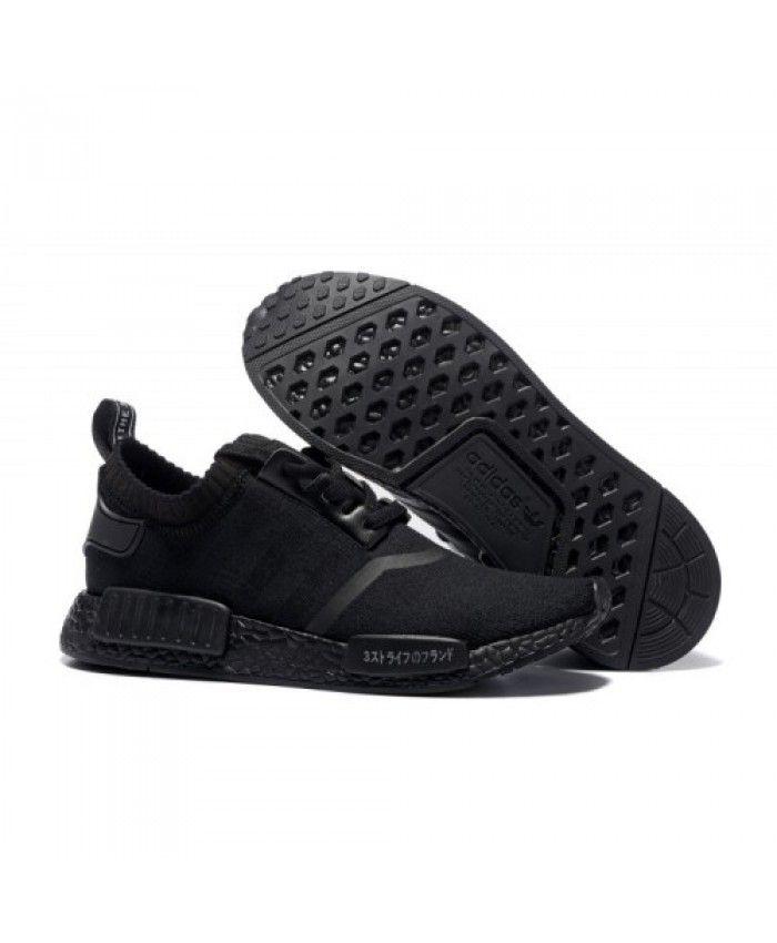 the latest ea570 d5b9a Adidas NMD Runner Mens Triple Black Boost | adidas nmd ...