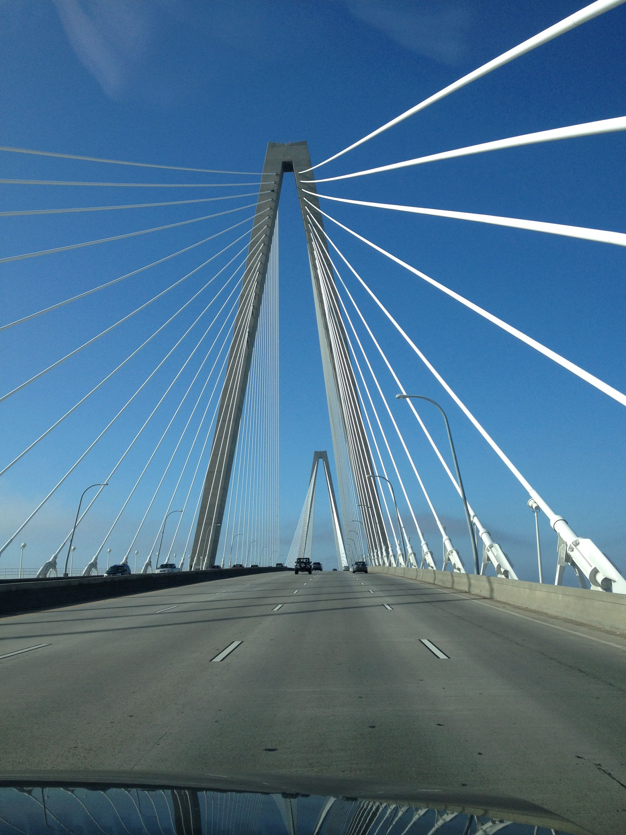 Bridge between Mt. Pleasant and city of Charleston SC