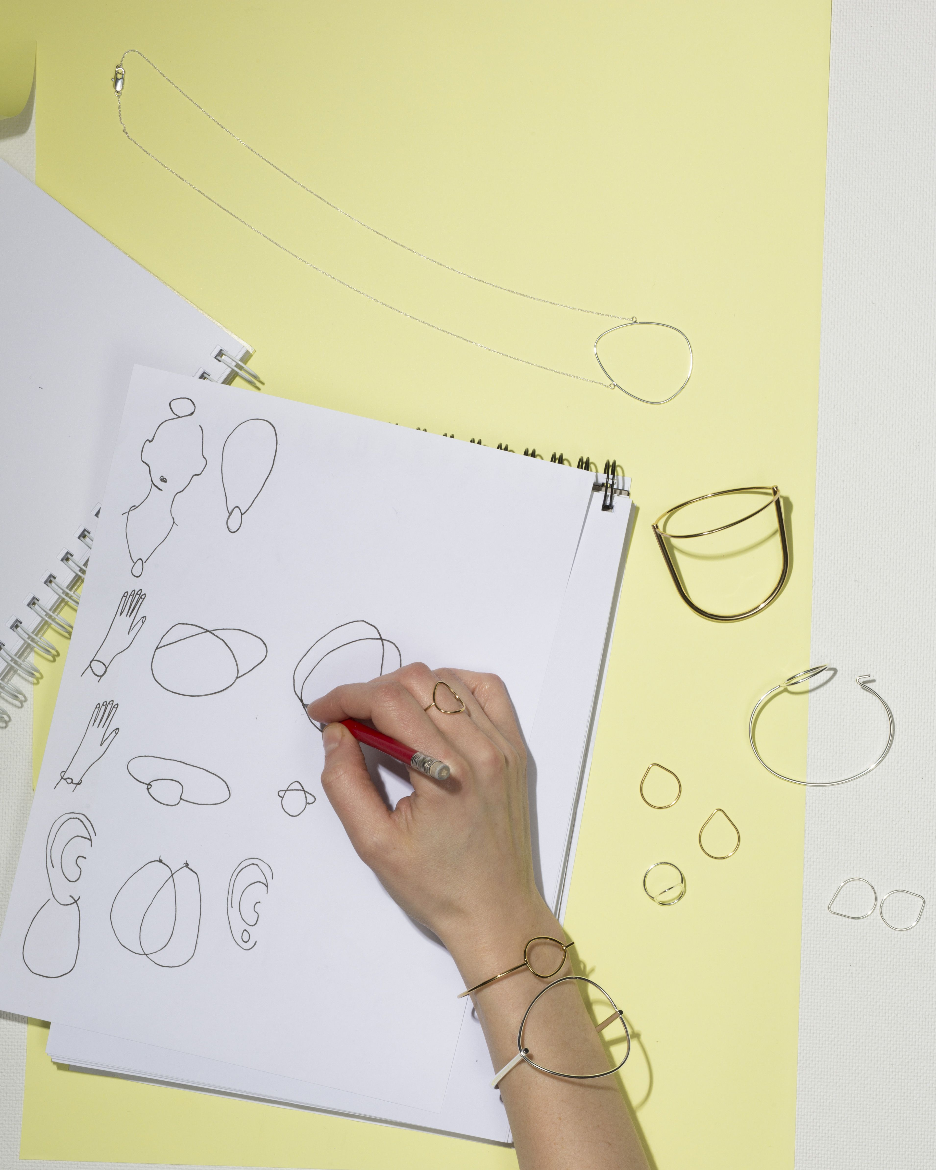 & Other Stories   Our jewellery designer Klara has a thing for delicate egg-shapes.
