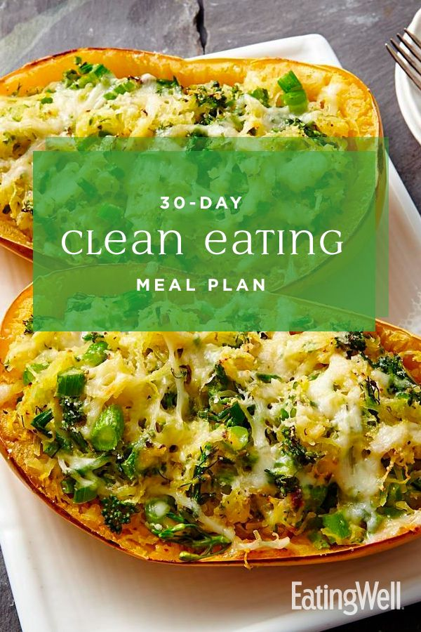 30-Day Clean Eating Meal Plan images