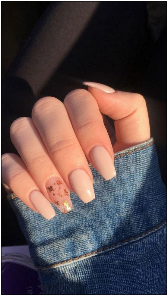 144 Stylish Pink Nails Designs Ideas To Look Romantic And Girly 21 Pradehome Com In 2020 Simple Acrylic Nails Dream Nails Basic Nails