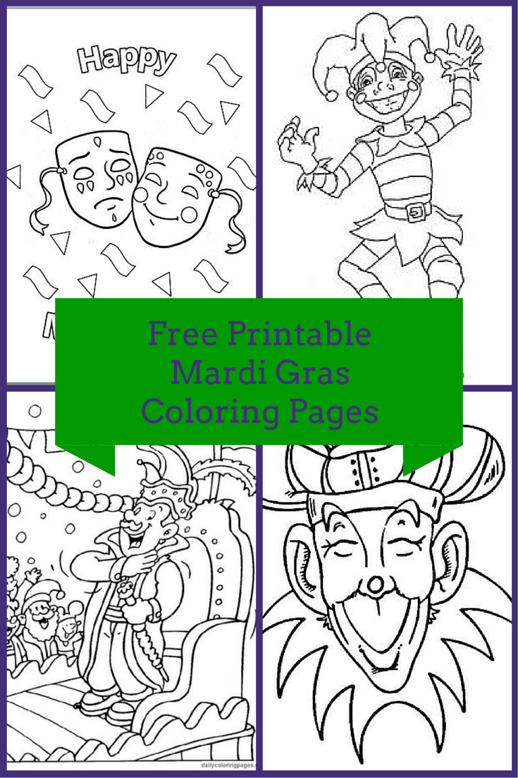 Free Printable Mardi Gras Coloring Pages. As many of you already ...