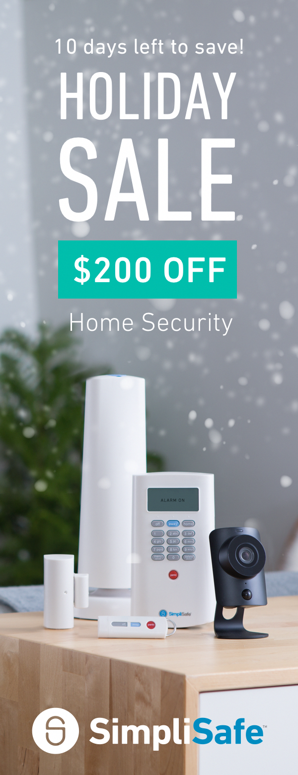 The clock is ticking on SimpliSafeus biggest sale of the year Right