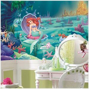 Extra Large Wall Murals - Disney's Ariel - The Little Mermaid 6' x