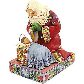 Jim Shore Kneeling Santa I Have This Statue Already It