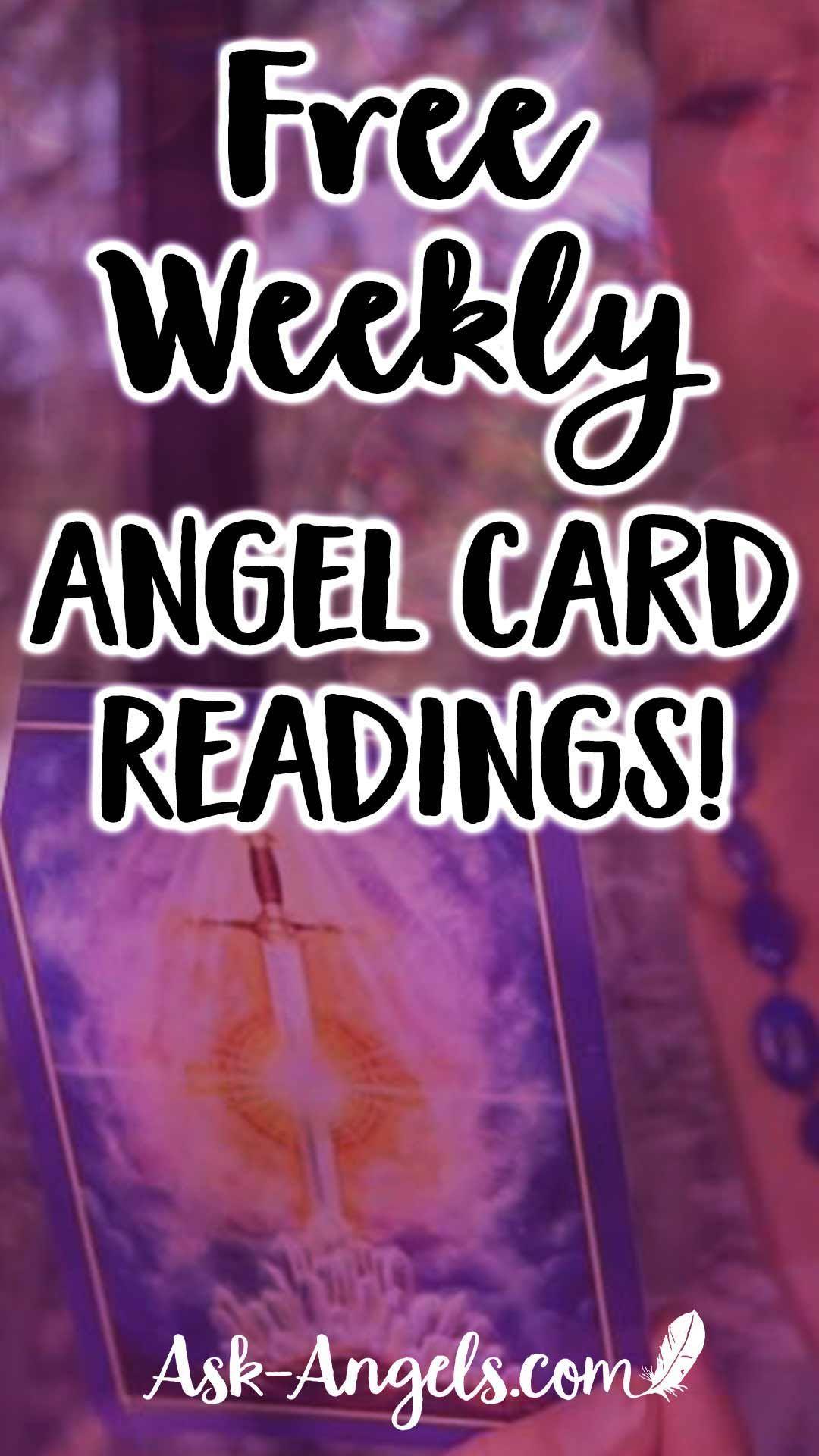 Get free video angel oracle card readings with melanie