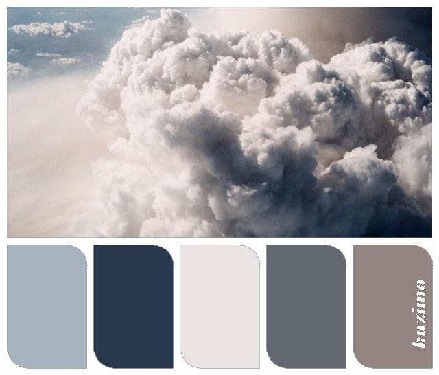 Dark Gray Color Scheme: Beautiful Blue/gray For The Kitchen. Dark Grey For