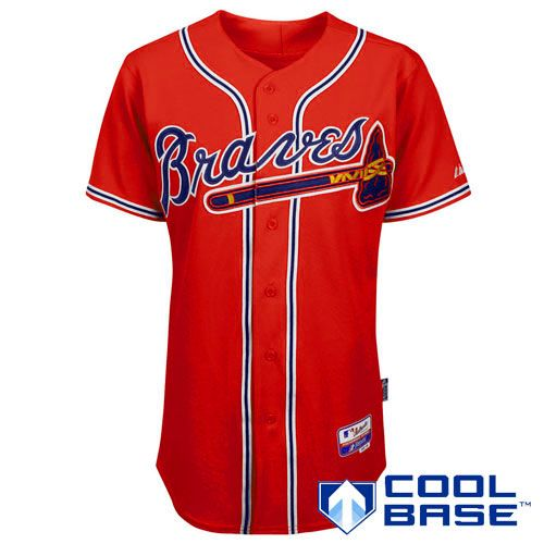 2db26feca And I want a Braves jersey.. Atlanta Braves Authentic Alternate Cool Base  Jersey