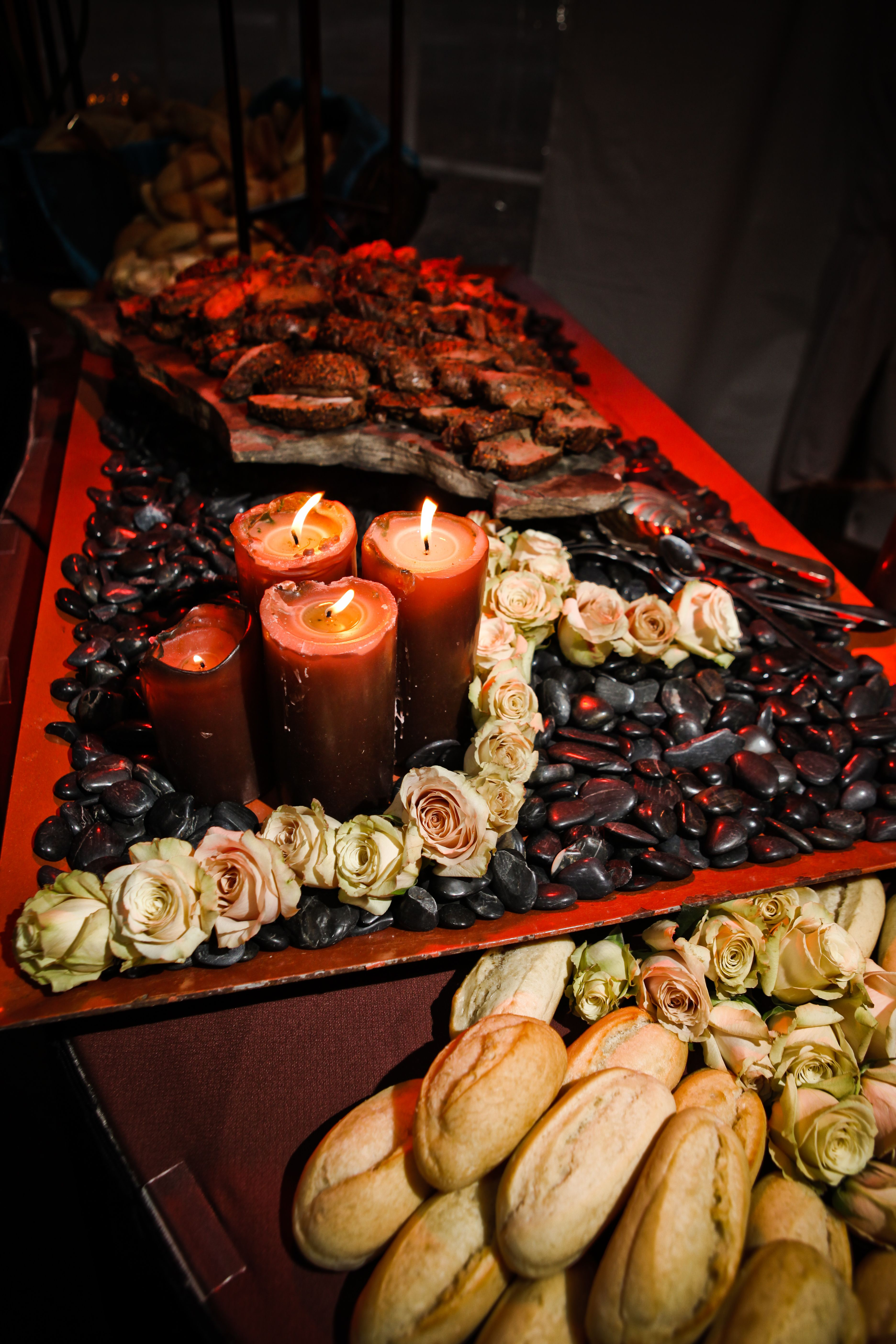 Carving station with beef tenderloin fabulous food wedding