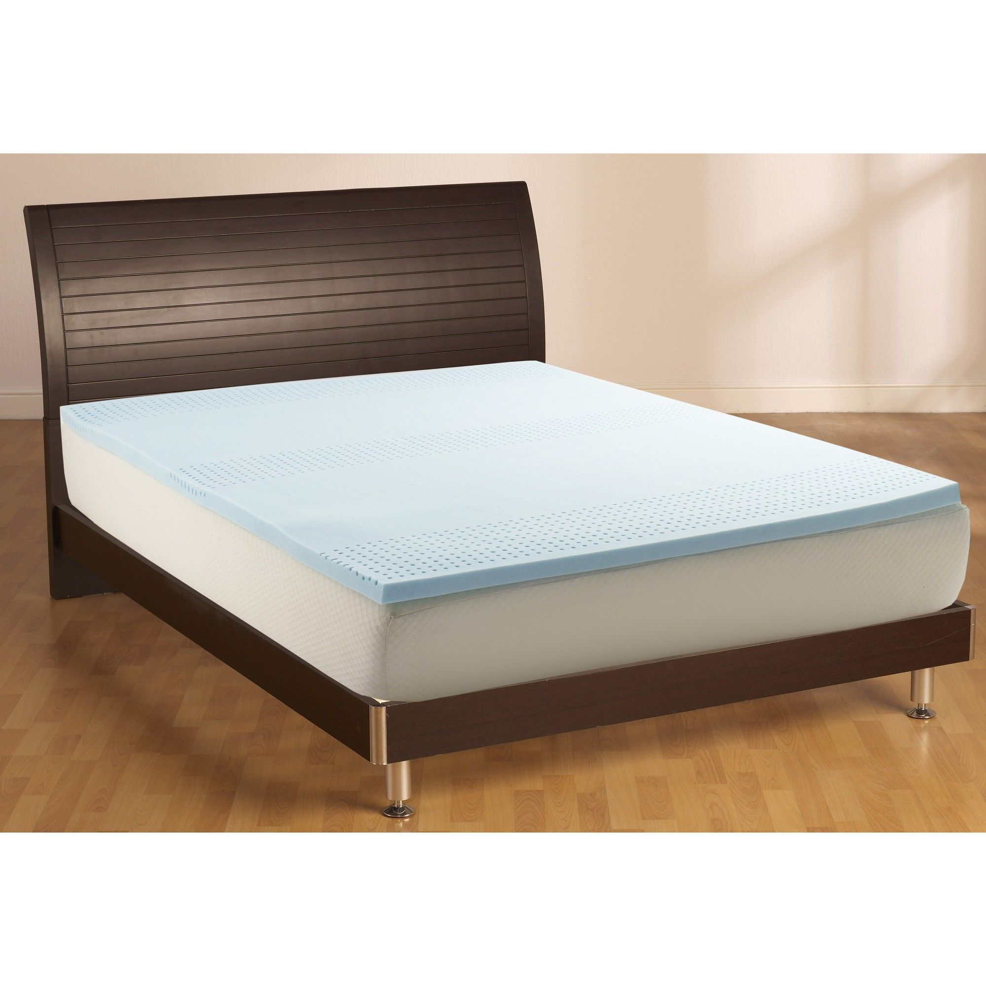 Full 2 Cooling Gel Mattress Topper White Made By Design