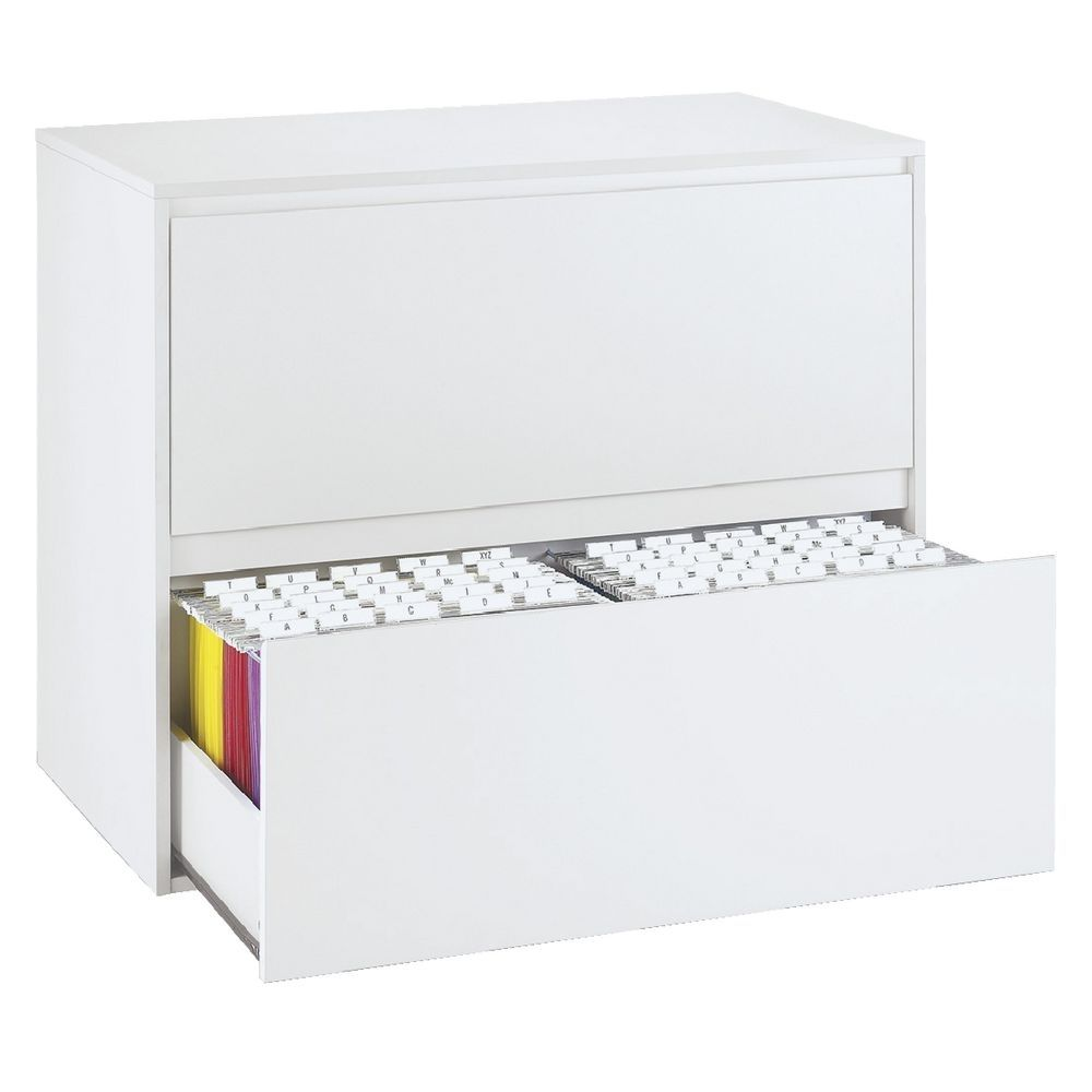 lateral file cabinet white. Mystique 2 Drawer Lateral Filing Cabinet White File G