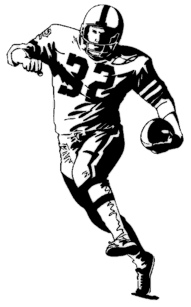 Football coloring page | Fun Coloring Pages for Kids and Adults ...