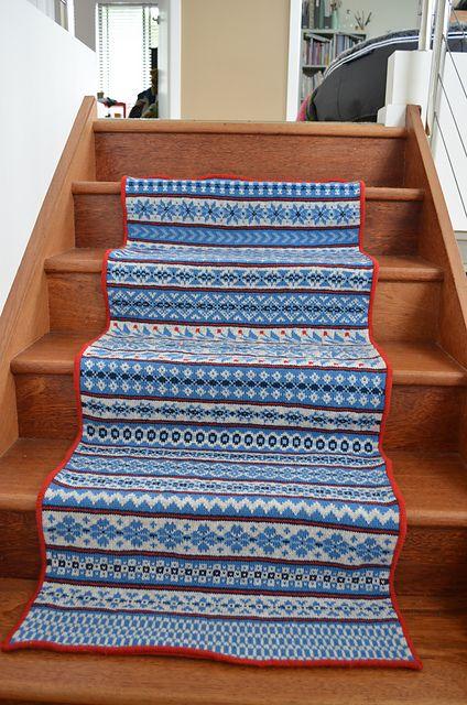 Ravelry: Fair Isle Sampler KAL pattern by Wieke van Keulen   FREE ...
