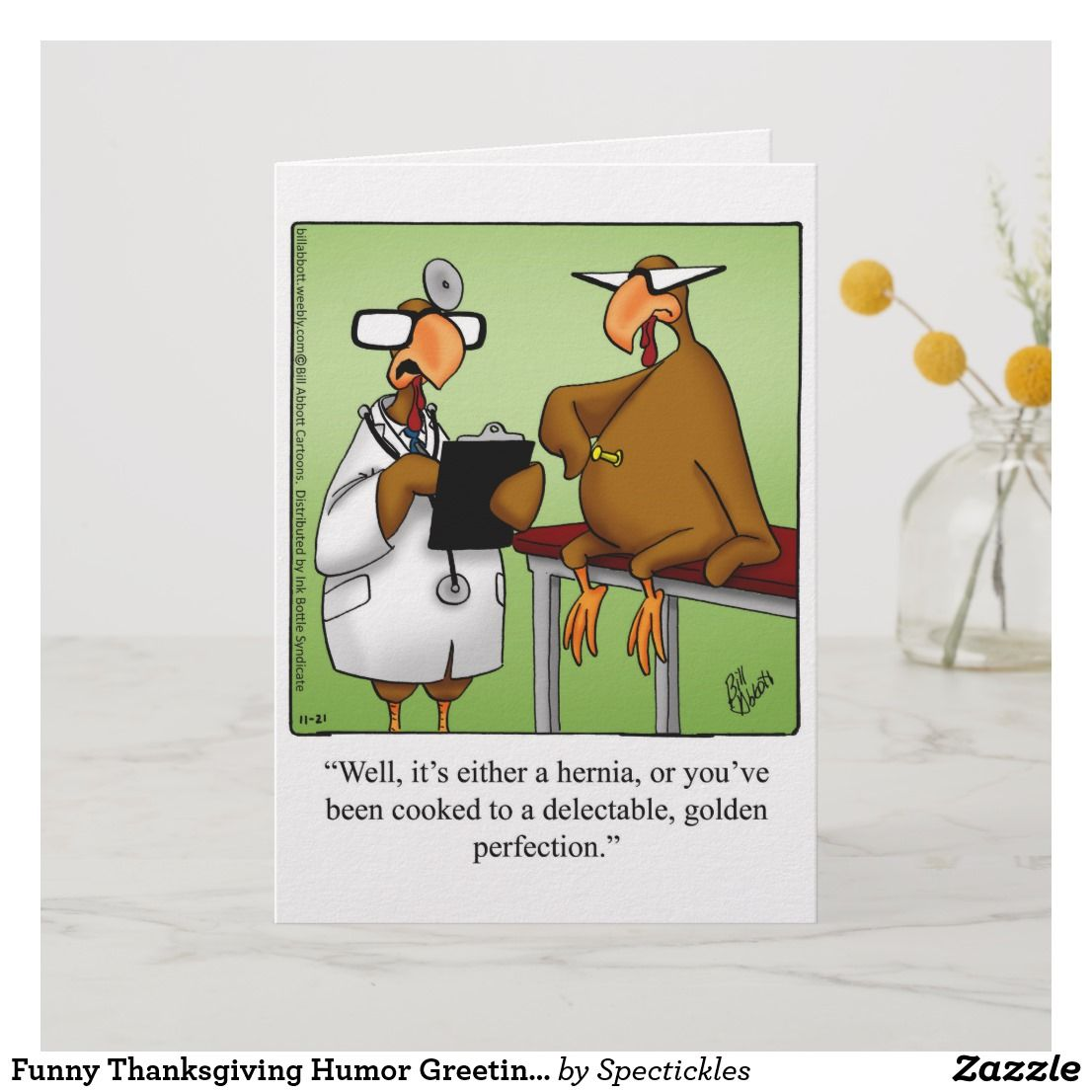 Thanksgiving Humorous greetings pictures foto