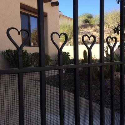 Tucson Wrought Iron Gates And Ornamental Metal Gates Custom Entry