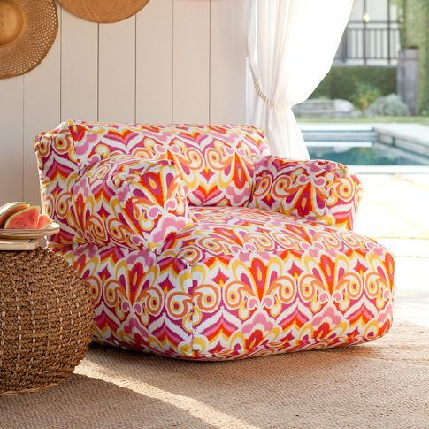def need one of these | Home | Pinterest | PB Teen, Orange couch and ...