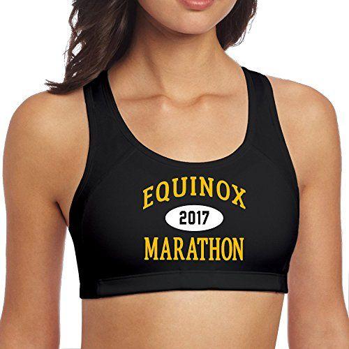 Women's Alaska Equinox Marathon 4 Black Yoga Sports Bras Bra