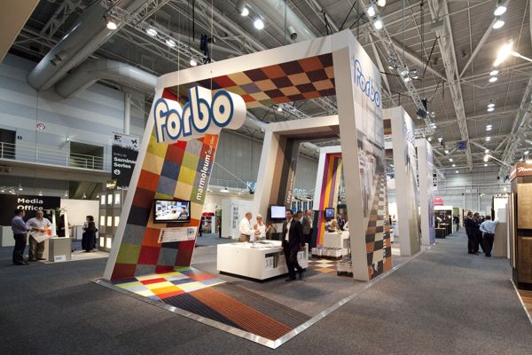 Forbo Flooring Systems On Behance Architecture Exhibits