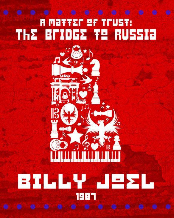 0388  Vintage Music Poster Art Billy Joel In Concert