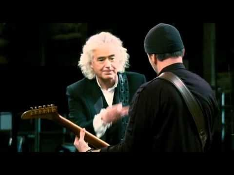 I Will Follow - The Edge, Jimmy Page and Jack White, These 3...wow