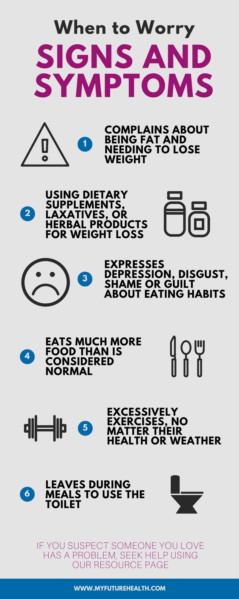 when to worry: #warning signs of an #eatingdisoder #signs #symptoms