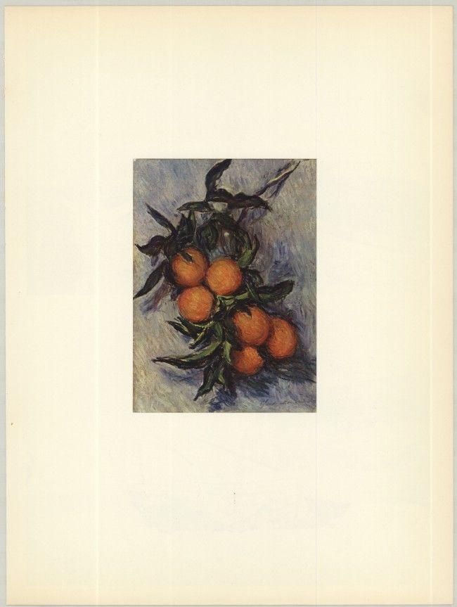 Monet- Oranges