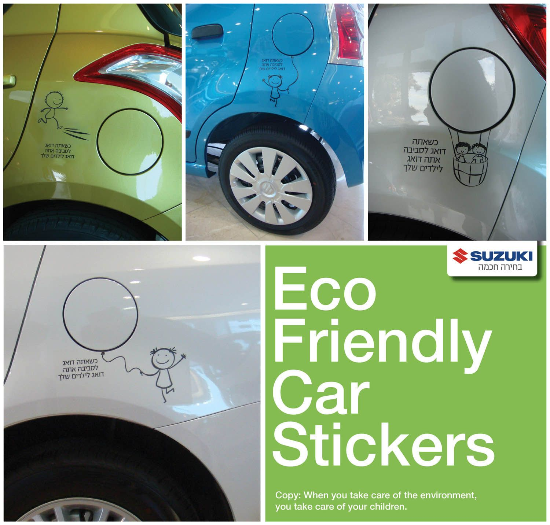 Eco Friendly Car Stickers