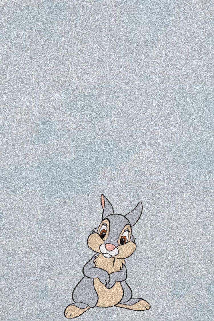 Thumper Disney Wallpaper Disney Background Cartoon Wallpaper