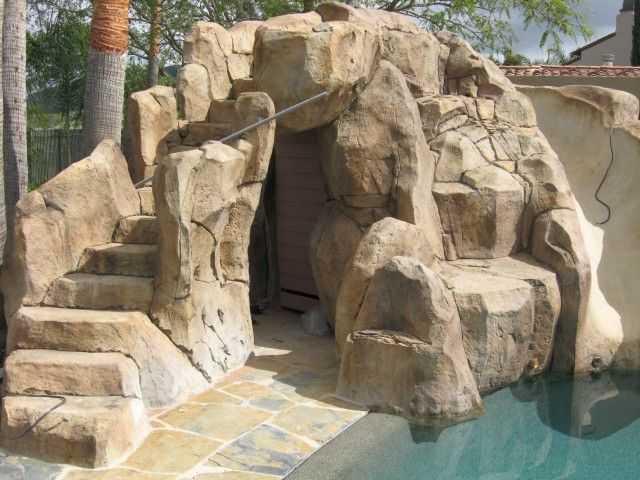 Faux Rock Caves Fake Cave For Backyard Landscapes Aaa