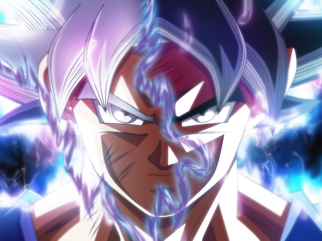 Desktop Wallpaper Goku Face Off Ultra Instinct Dragon