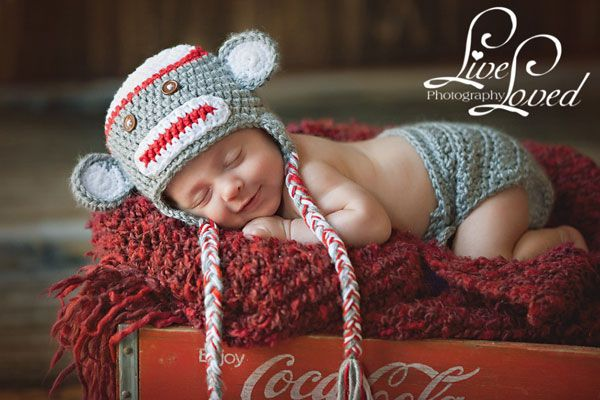 Sock monkey hat babies pinterest monkey hat monkey and socks sock monkey hat patterns for babies toddlers and adults crochet your own sock monkey hat from these sock monkey hat patterns dt1010fo