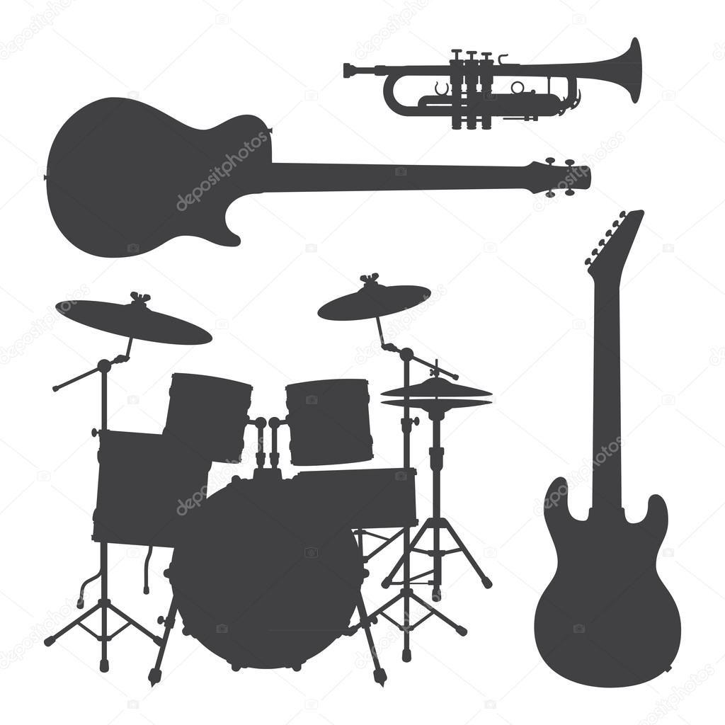 楽器 イラスト 白黒 楽器 イラスト サックス イラスト フルート